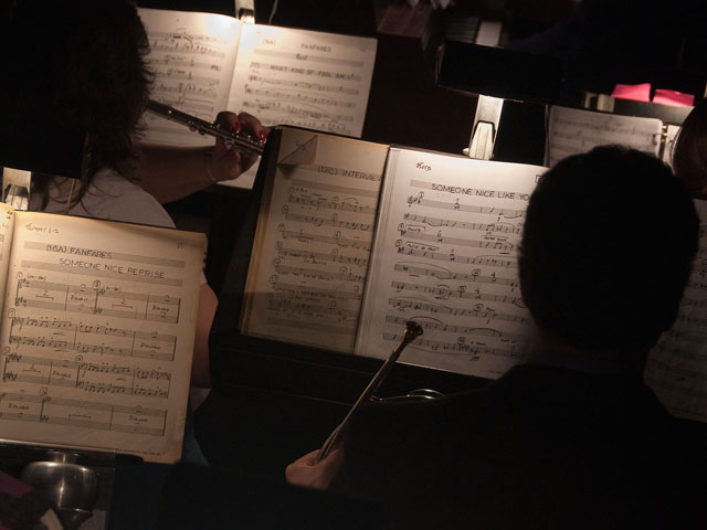 The orchestra for Stop the World, provides the musical drive for the production