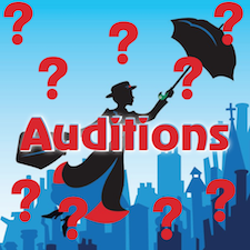 Mary Poppins Audition Notice