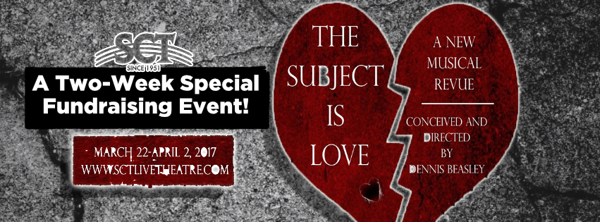 The Subject Is Love Fundraising Event theatre