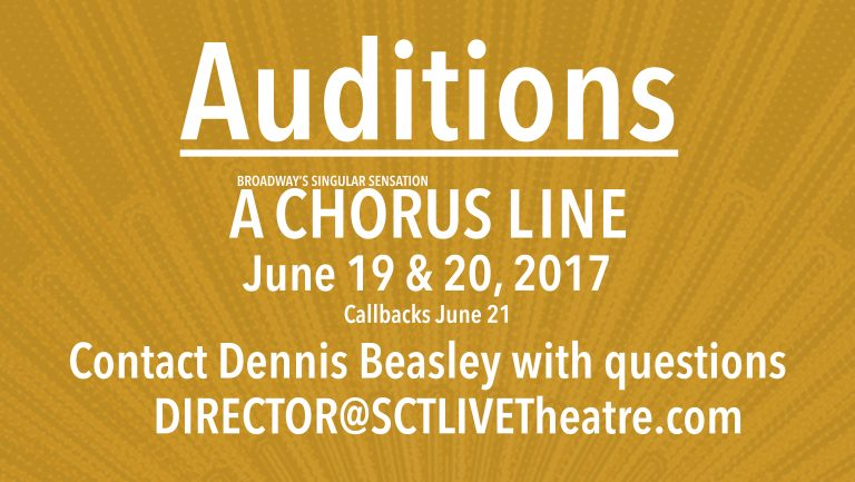 Chorus Line Auditions