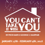 You Can't Take It With You by Moss Hart George S. Kaufman