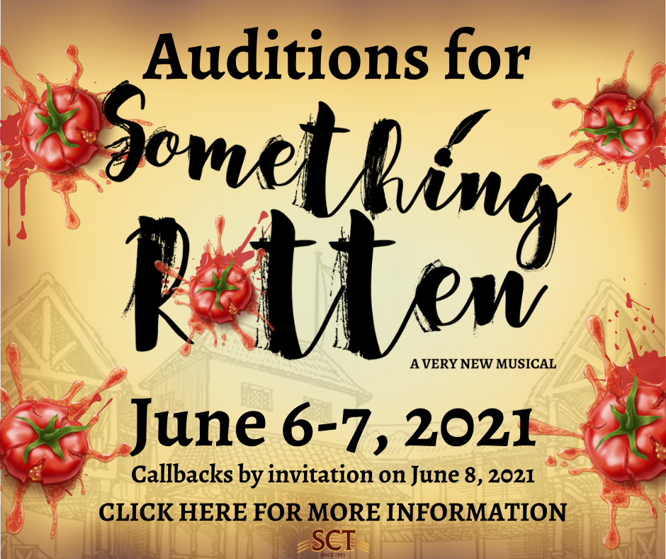 Something Rotten Auditions