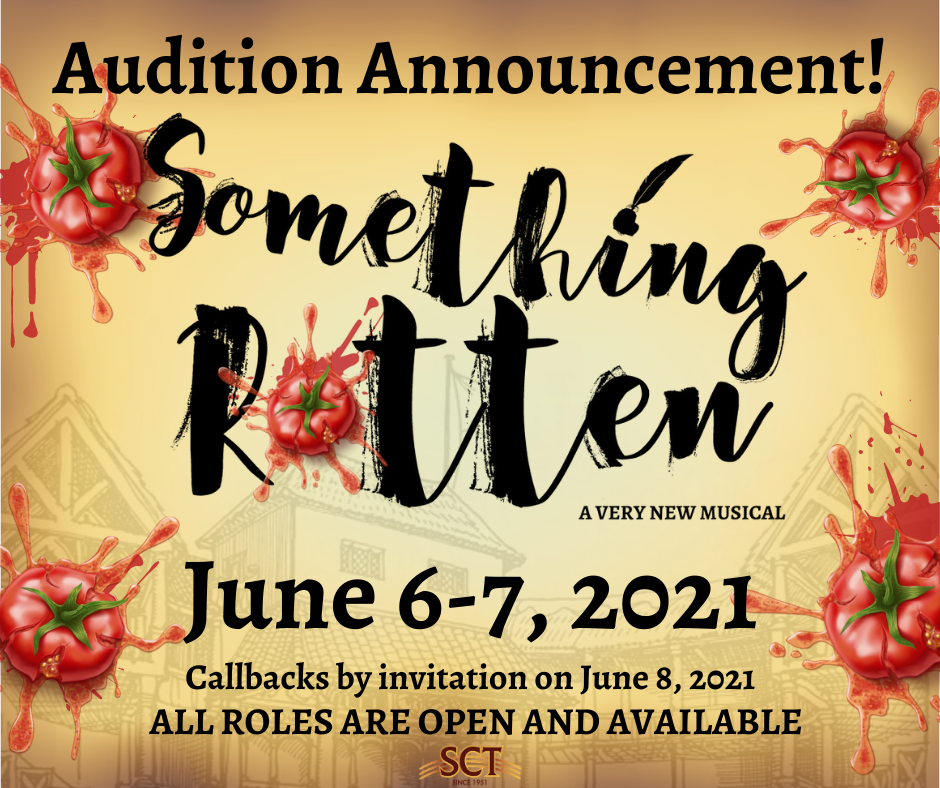 Something Rotten Audition Announcement - CallBoard
